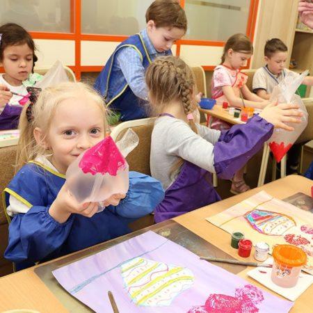 Занятия в детской школе «Браво!» для детей 3-7 лет