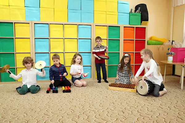 Музыкальные занятия для детей 3-6 лет