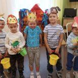 Дети на занятиях в Центре детского развития ТИМ