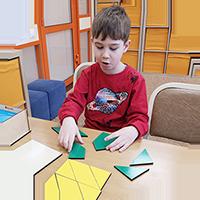 В игре ребёнок реализует свою потребность взаимодействия с миром