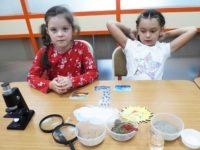 Обучающие занятия для детей: научная лаборатория