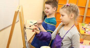Дошкольное обучение: творческие студии для детей 3-7 лет